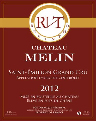 chateau mélin 2014 saint emilion grand cru